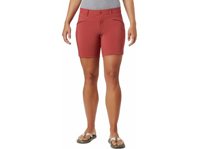 Columbia Peak to Point Pantalones cortos Mujer, dusty crimson